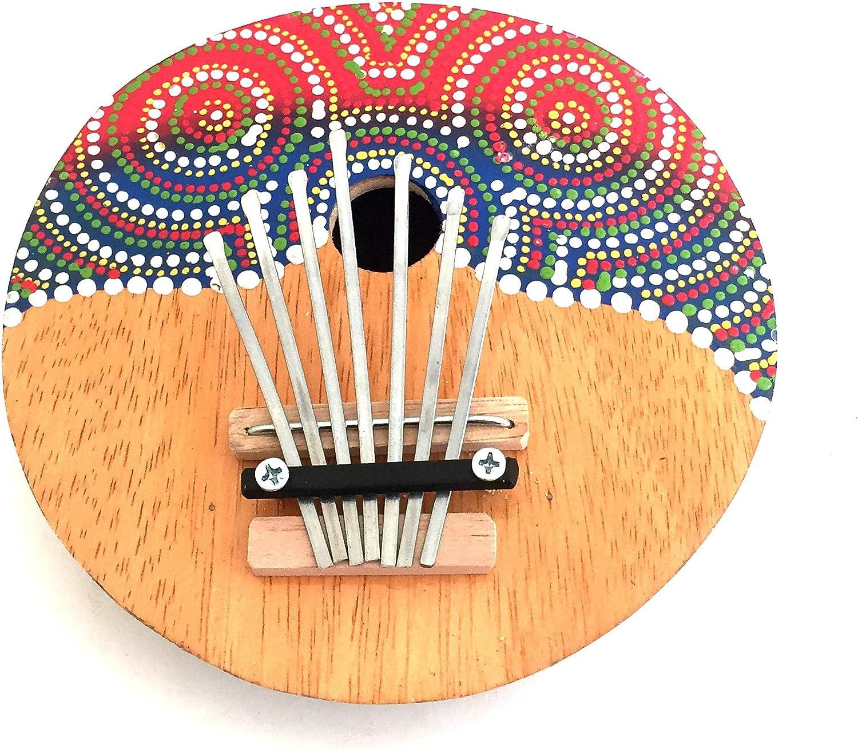 JIVE BRAND Kalimba Thumb Piano Percussion Musical Instrument Coconut Kalimba