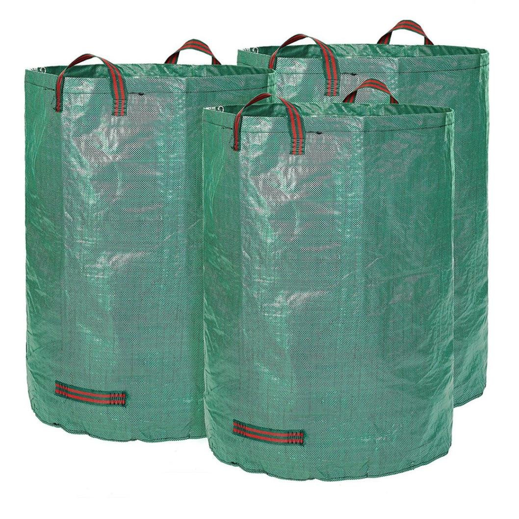 Garden Bag for Leaves, 3-Pack 72 Gallons Garden Waste Bags (3×72 Gallons)
