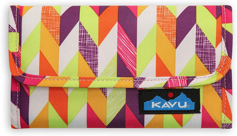 KAVU Mondo Spender Trifold Wallet Travel Clutch