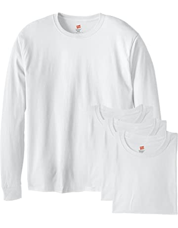546df3c6434301 Hanes Men s Long-Sleeve ComfortSoft T-Shirt (Pack of ...