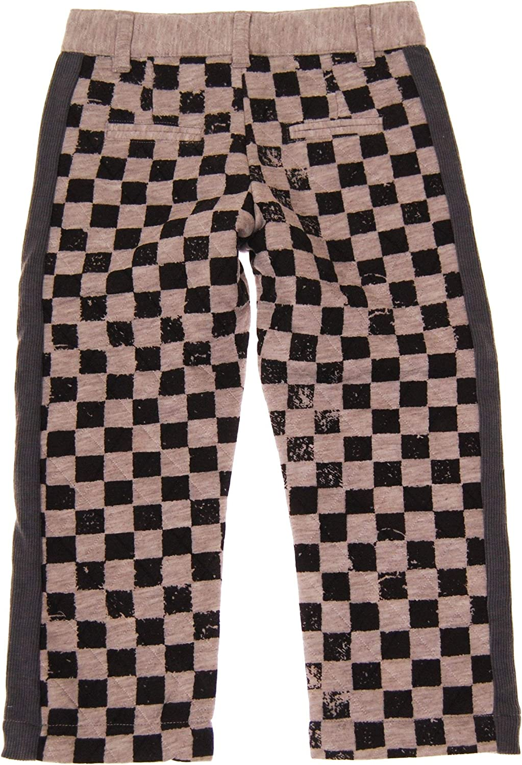 Mini Shatsu Quilted Checker Baby Pants