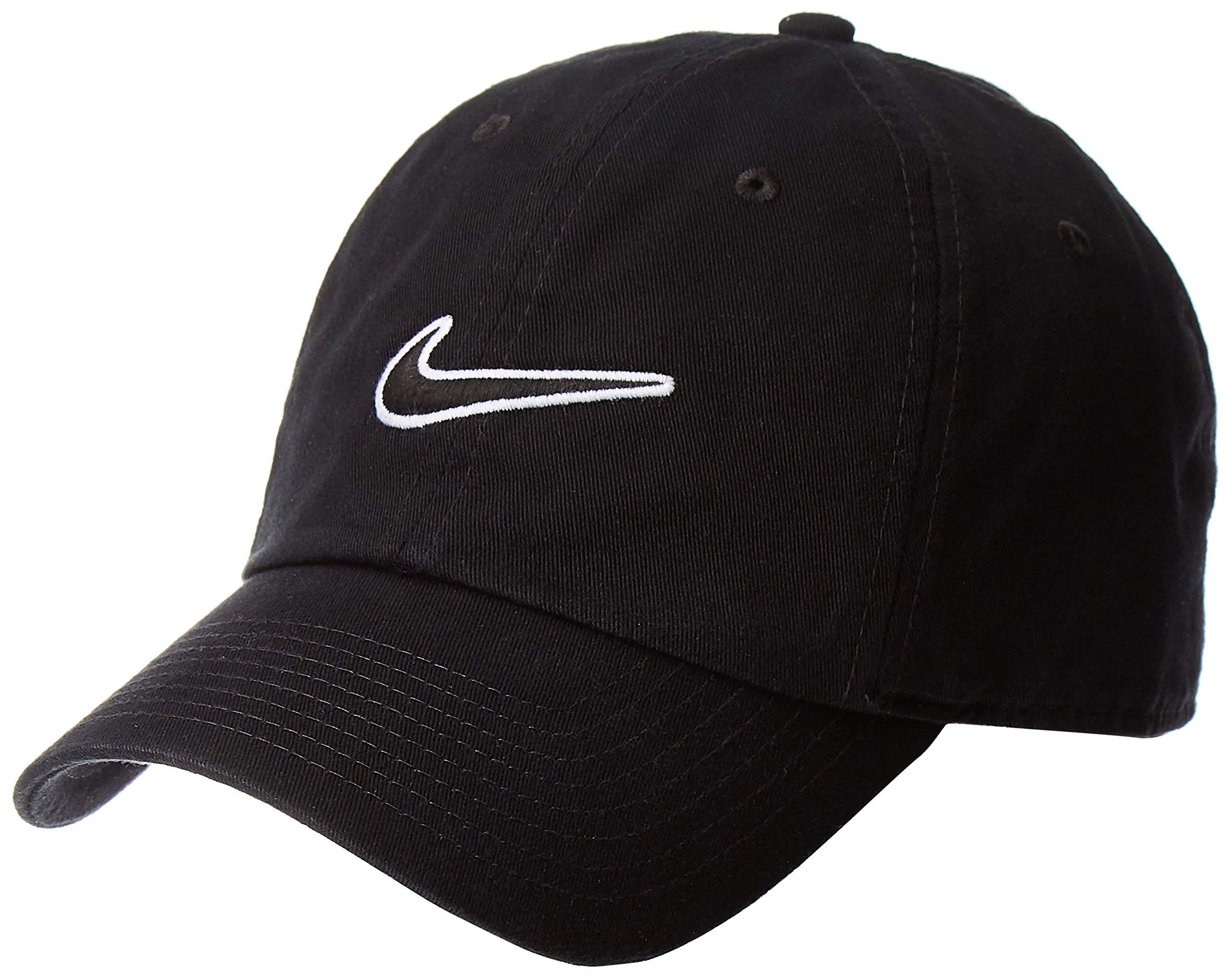 Nike Men's Sport Cap (943091, Black, Free Size)