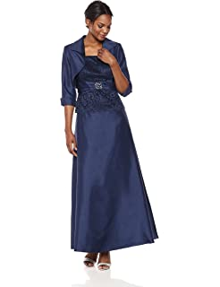 e7bfbb19ef5 Jessica Howard Women s Metallic Blouson Halter Dress at Amazon ...