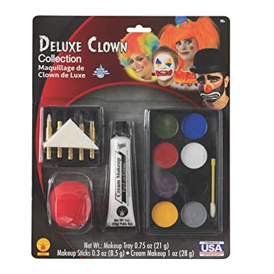 Rubies Deluxe Clown Make-Up Kit: Toys & Games