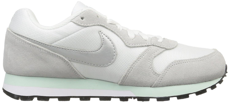 Nike WMNS MD Runner 2, Sneakers Basses Homme, Blanc - White (White/ Fibreglass/Pure Platinum/Metallic Silver 103), 37.5: Amazon.fr: Chaussures  et Sacs
