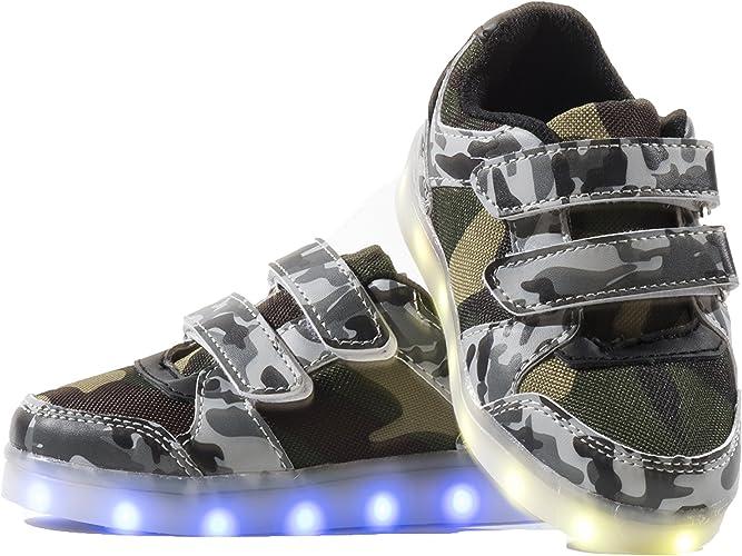 Envio 24 Horas Nuevo Modelo Usay like Zapatillas LED con 7 Colores ...