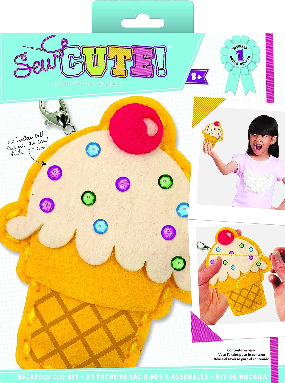 Colorbok 73963 Sew Cute Mini Ice Cream Multicolor