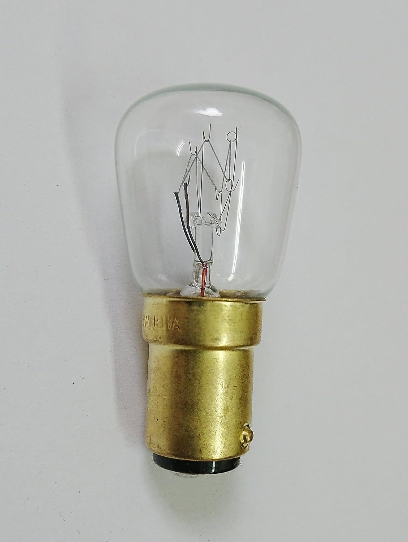 Especial lámpara, luz de lámpara para máquina de coser (B15d ...