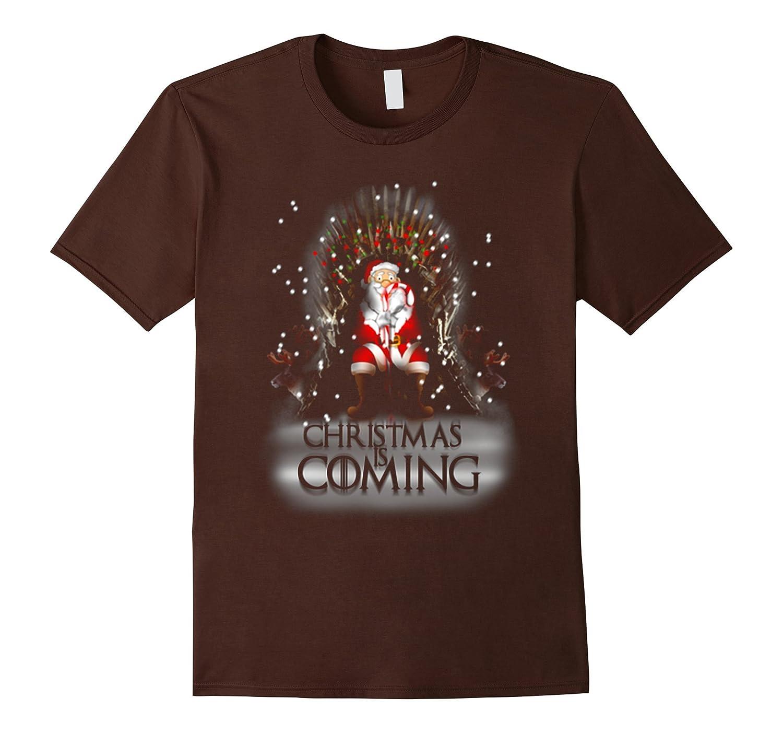 Christmas Is Coming T-Shirt Funny Christmas Shirt Gift-Art