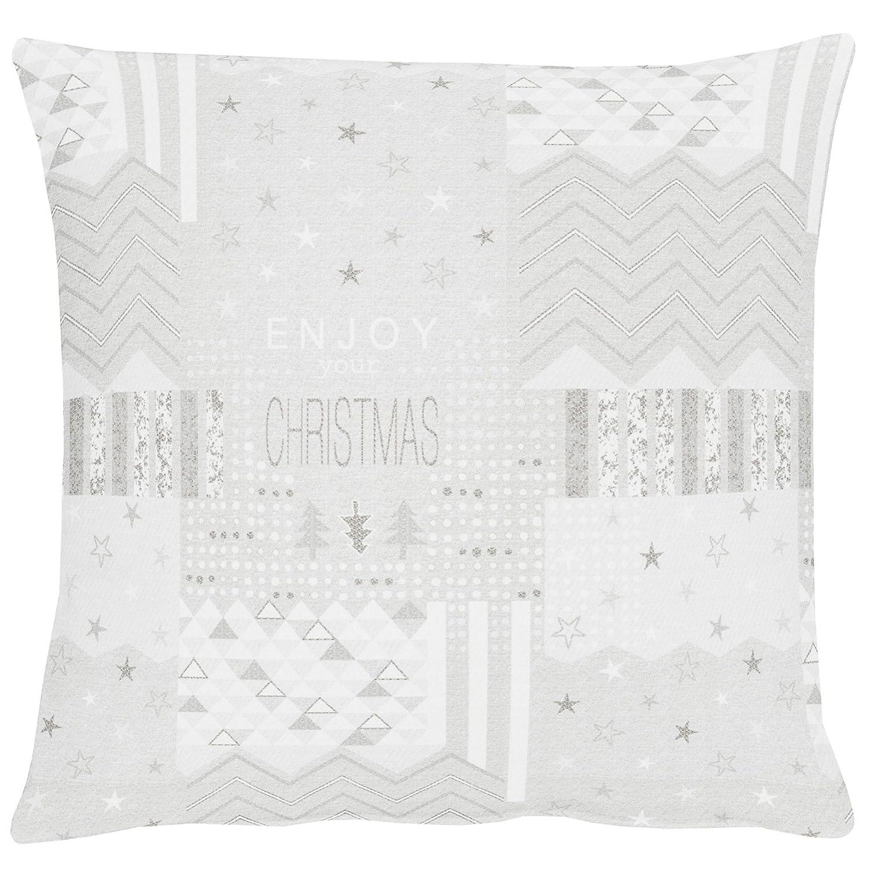Apelt Kissenhulle Christmas Elegance Art 5200 Fb 88 Jaquard Ca