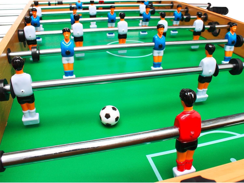 Dema Tischfussball Kicker - Futbolín Color marrón Talla One Size ...