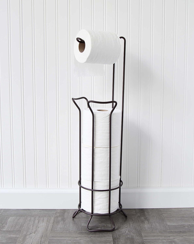Vanderbilt Home Freestanding Toilet Paper Holder in Oil Rubbed Bronze - Franklin