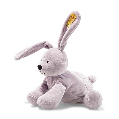 "Steiff Lilac Annie Rabbit 9"" Soft Cuddly Friends Stuffed Animal: Baby"