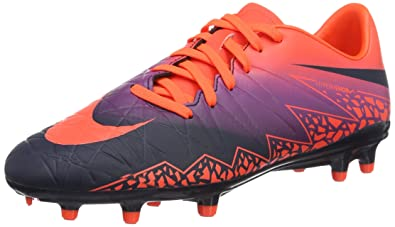buy popular b6613 49bde Nike Hypervenom Phelon II FG Chaussures de Football Homme, Bleu (Total  Crimson Obsidian