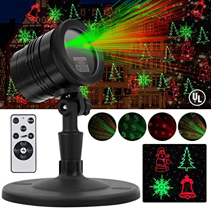 Amazon.com: Navidad Luces laser, Impermeable al aire última ...
