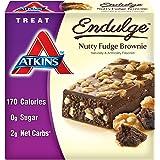 Atkins Endulge Treat, Nutty Fudge Brownie, 5 - 1.4 oz Bars