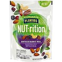 NUT-rition Antioxidant Nut Mix (5.5 oz Bag) - Trail Mix with Almonds, Cashews, Pecans, Blueberries, Cranberries & Sea Salt