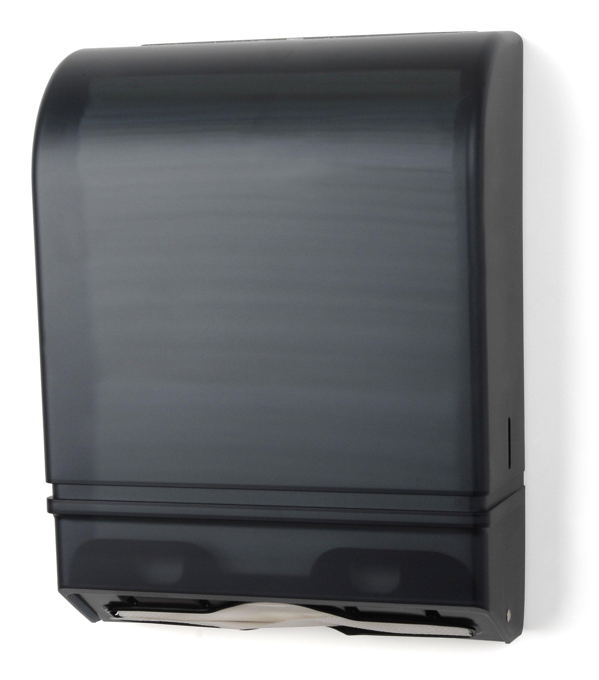 Palmer Fixture TD0175-01 Multi/C-Fold Towel Dispenser, Dark Translucent
