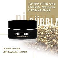 Pürblack Live Resin Shilajit - Genuine, High-Efficacy, 3rd Generation Shilajit (30g Jar)