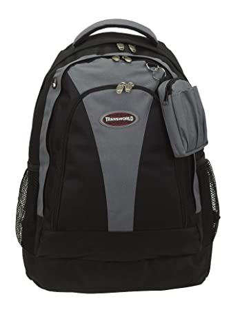 Amazon.com: 19 Inch Black Laptop Computer School Outdoor Backpack ...
