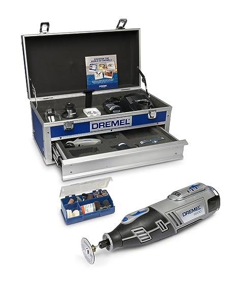 Dremel Dremel 8200 Platinum Kit 5/65 - Herramienta rotativa (10.8 voltios) [