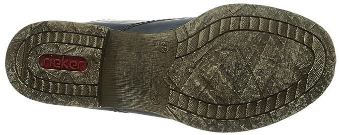 899e7585d95d Rieker 70821 Damen Halbschaft Stiefel  Amazon.de  Schuhe   Handtaschen