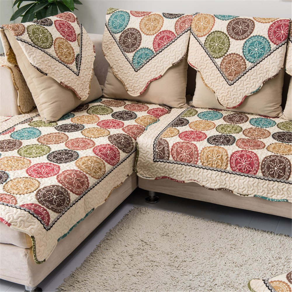 Merveilleux Amazon.com: OstepDecor Multi Size Pet Dog Couch All Seasons Quilted Cotton  Furniture Protectors Covers For Sofa, Loveseat | Backing And Armrest Sold  ...