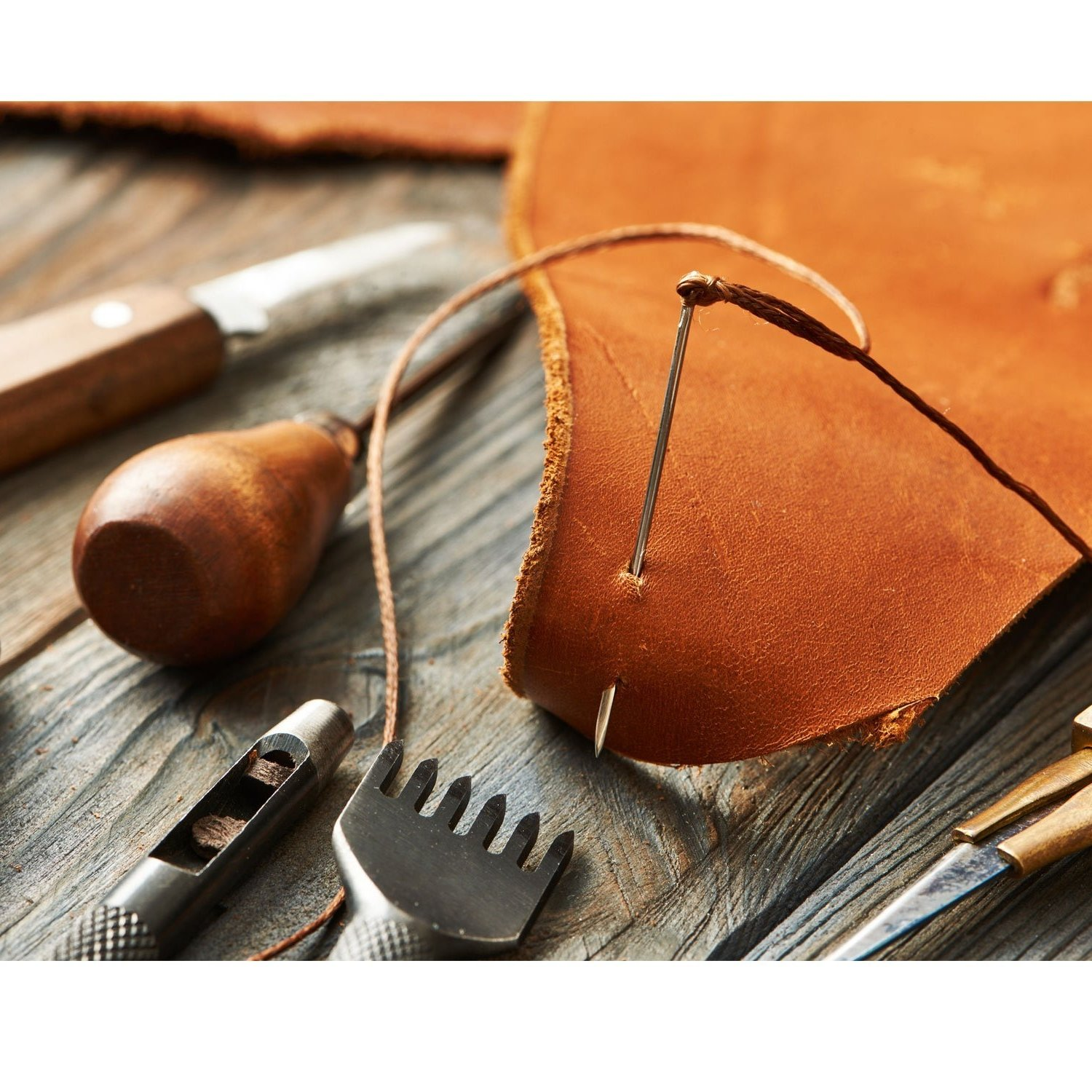 73 mm // 2.9 inch Yarn etc. Good for Sewing Leather Works Set of 10 Long Needles with Large Eye