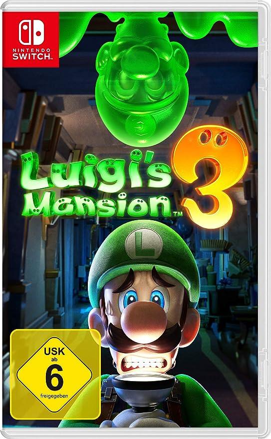 Nintendo Luigis Mansion 3 - [Nintendo Switch] [Importacion Alemania]: Amazon.es: Videojuegos
