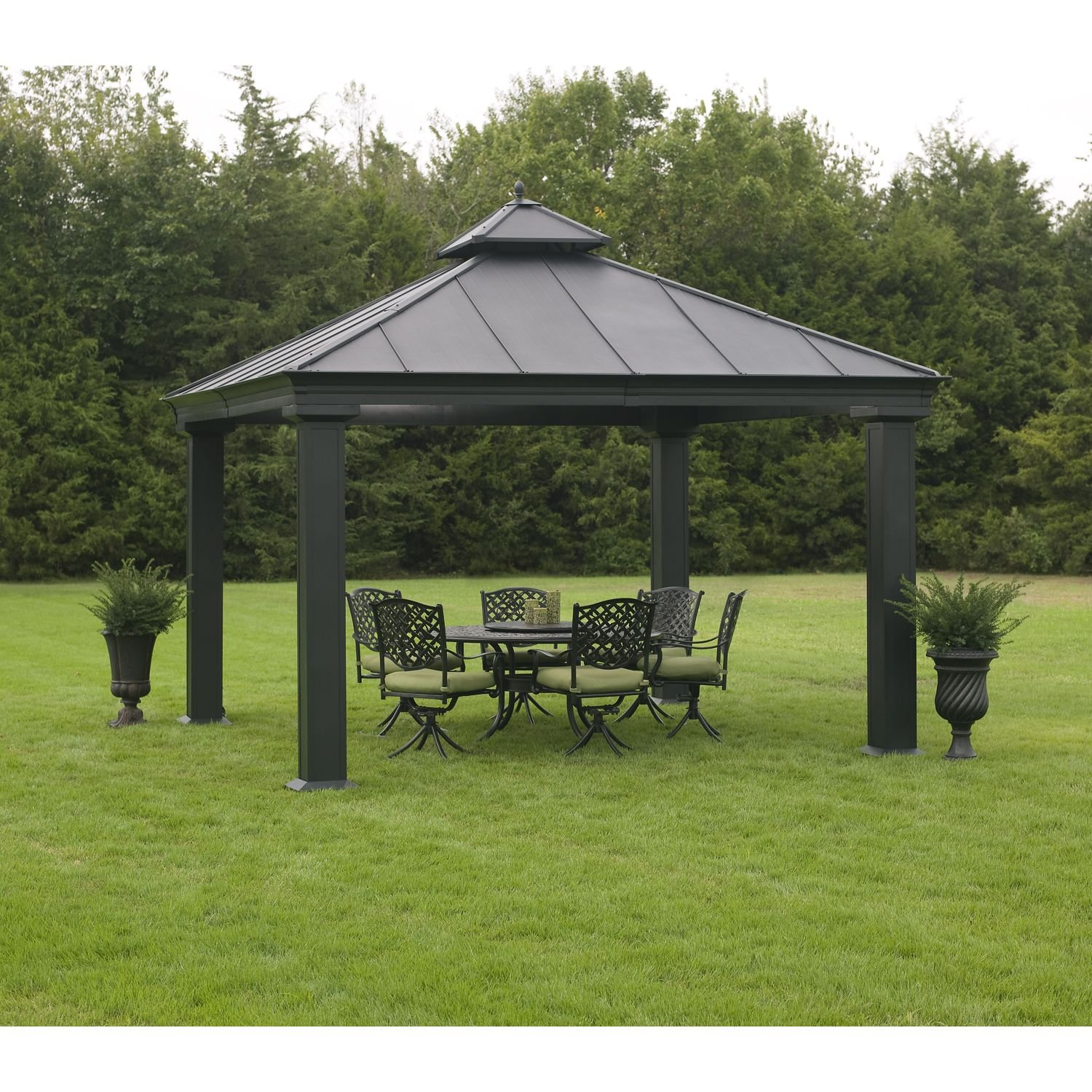 Amazon Royal Hardtop Gazebo Garden & Outdoor