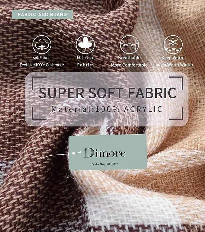 Amazon.com: Bufanda a cuadros para mujer, bufanda larga ...