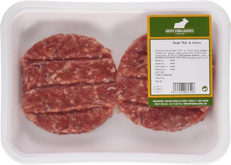 Hamburguesa de Ternera (4 unidades) - 400 g: Amazon.es ...
