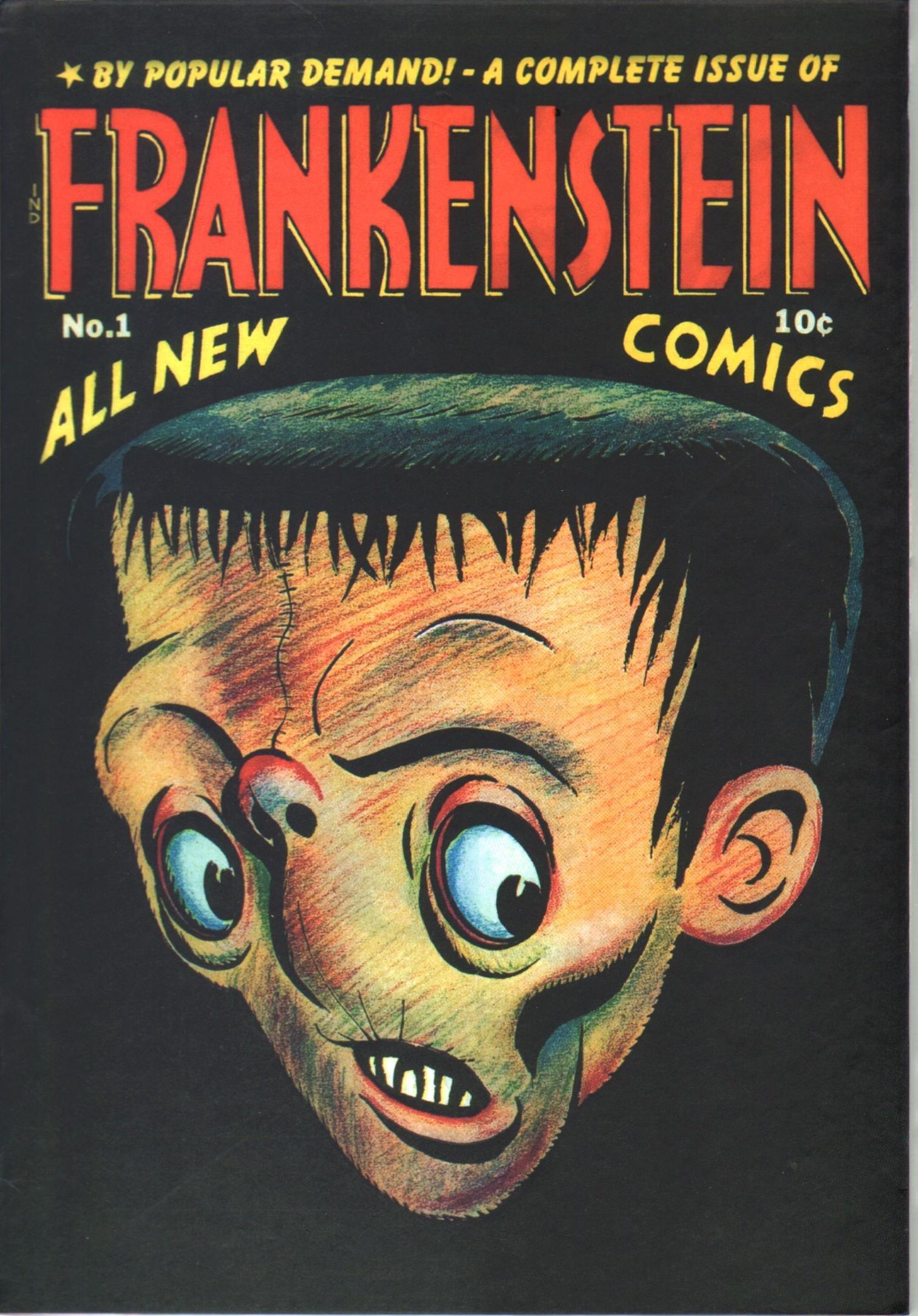 Download Roy Thomas Presents Frankenstein Volume 3 Limited Slipcase Edition pdf