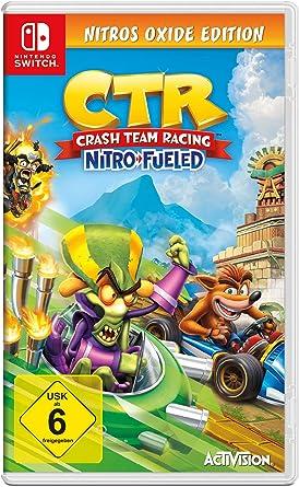 Crash Team Racing Nitro Fueled - Nitros Oxide Edition - Nintendo ...