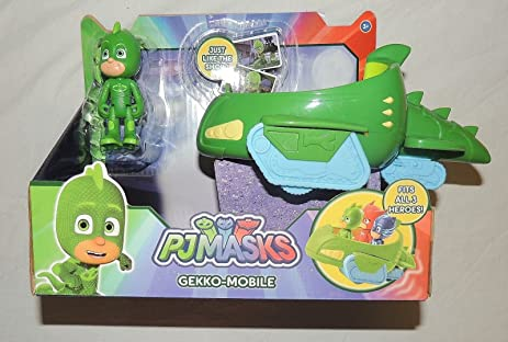 Pj Masks Gekko Mobile Vehicle and Figure New Cartoon Release