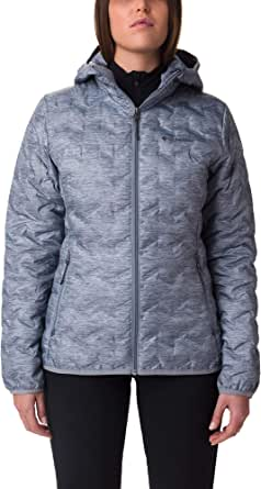 Columbia Delta Ridge Chaqueta de plumas con capucha para mujer