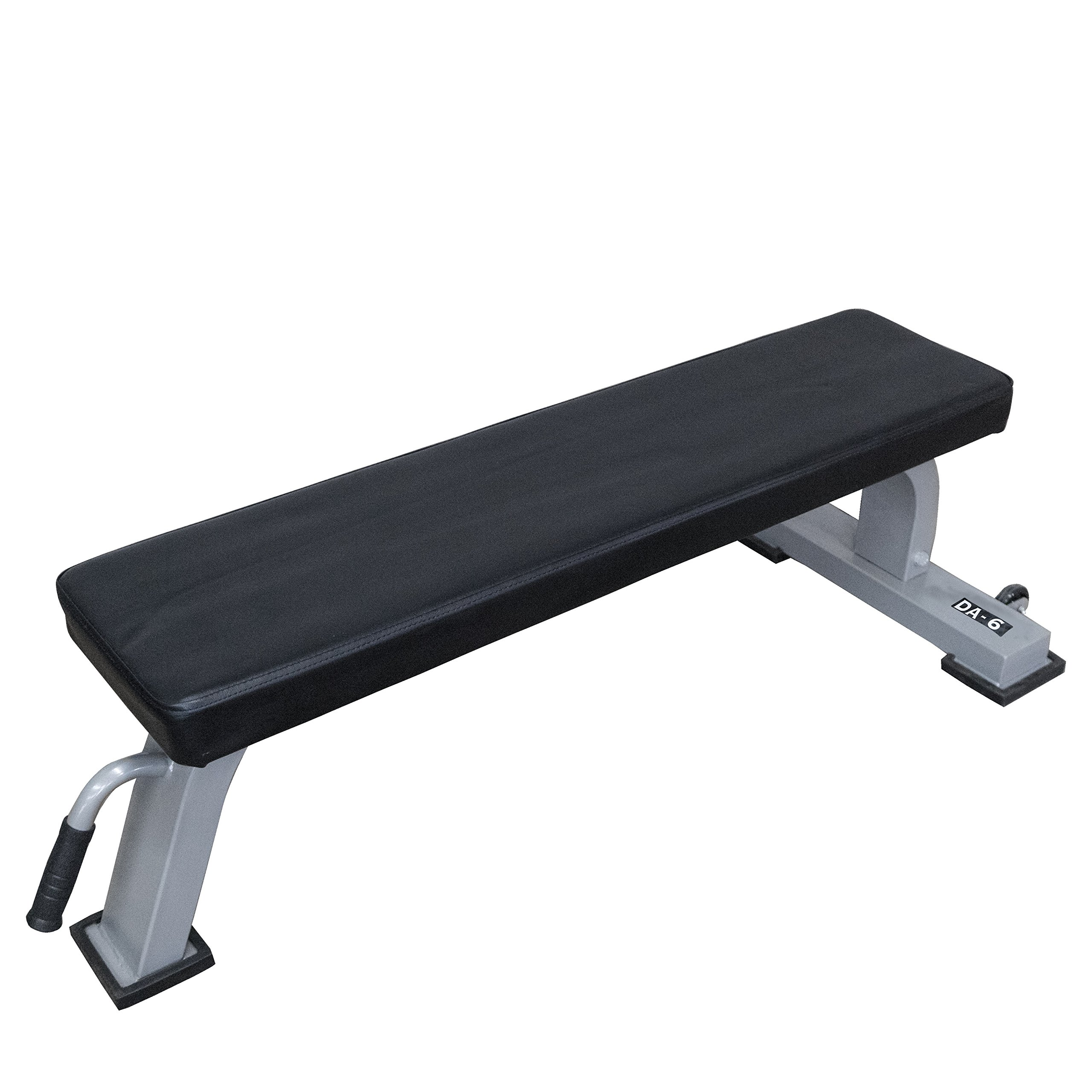 Valor Fitness Pro Flat Bench with Wheels