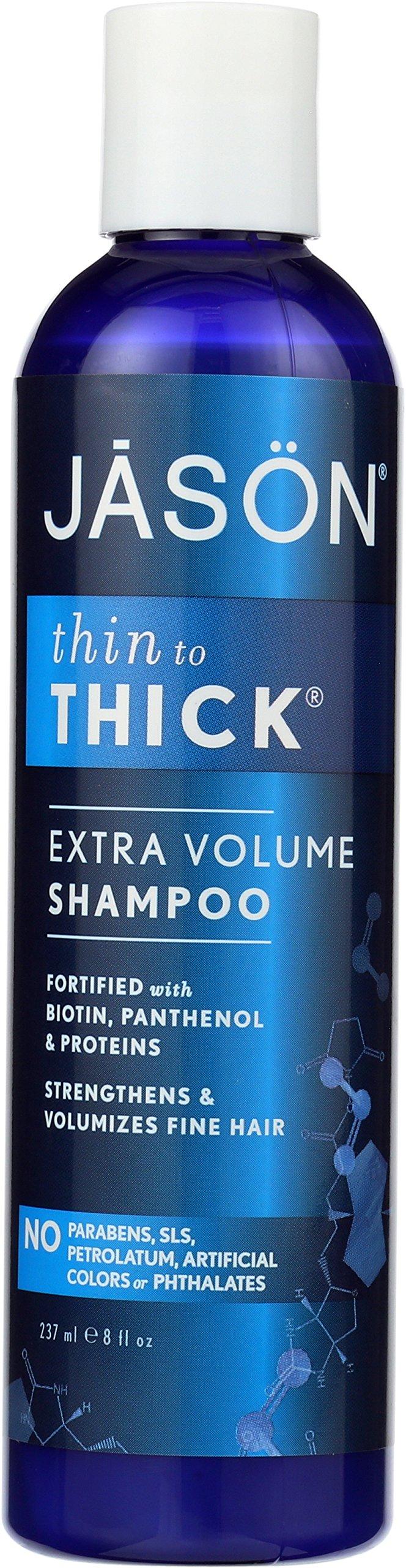 Jason Thin-To-Thick Extra Volume Shampoo, 8 Ounce