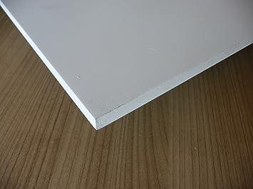 Polystyrolplatte weiß 495 x 1000 x 5,0 mm Stärke Kunststoff Platte Plastik 5mm