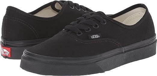 Vans Authentic Black Black VN-0EE3BKA Mens US 8 / UK 7 / EUR 40.5 / CM 26