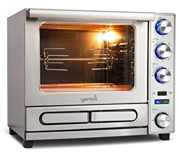Gemelli Twin Convection Oven With Built-In Rotisserie
