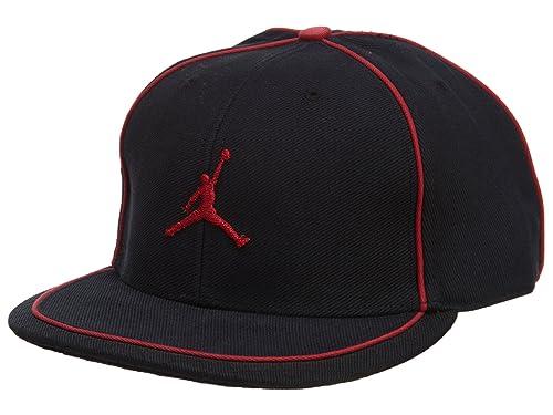 bb751f1d79d51 Jordan Cap Mens Style  108634-010 Size  8 Black Red