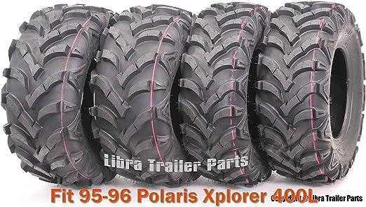 Set of 4 WANDA ATV//UTV Tires 25X8-12 25X10-12 for 2003-2014 POLARIS SPORTSMAN 600