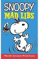 Snoopy Mad Libs (Peanuts) Paperback
