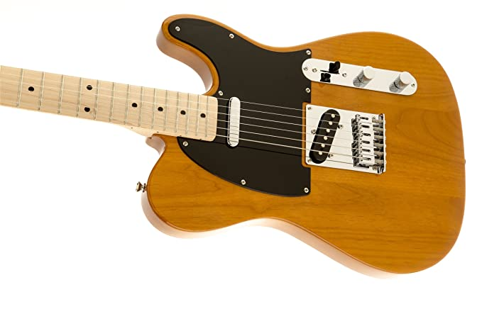 Fender Squier Affinity Telecaster MN - Butterscotch Blonde: Amazon ...