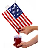Festive Flag Party Flasks (American Flag Flask 2.0 L)