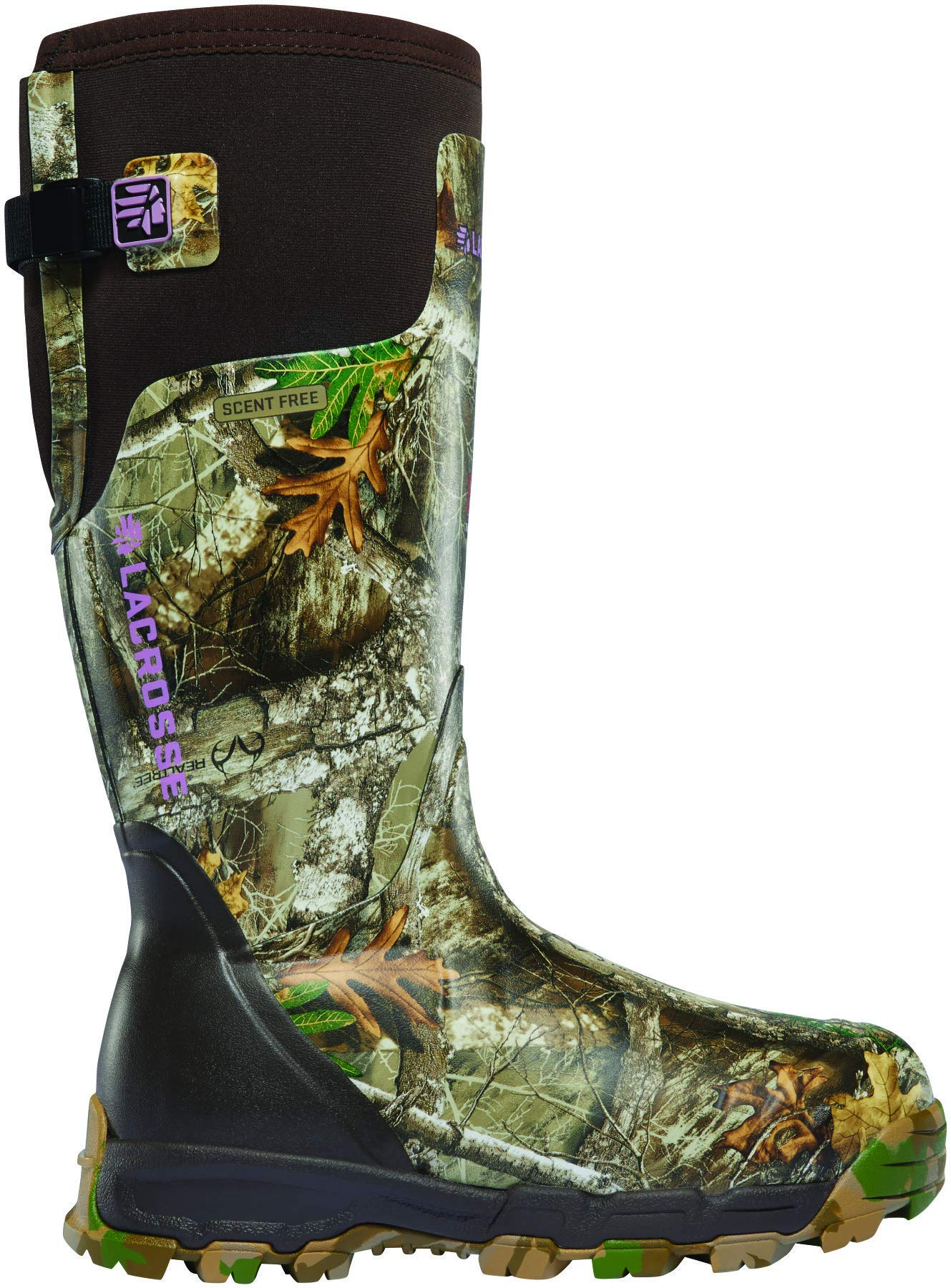 Lacrosse 376028 Women's Alphaburly Pro 15'' 800G Hunting Boot, Realtree Edge - 5 M US by Unknown