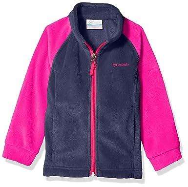 fc287d06c2433 Columbia Girls' Toddler Benton Springs Fleece, Nocturnal/Haute Pink, ...
