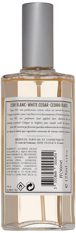 Amazon.com: Berdoues Eau de Cologne Spray, White Cedar, 4.2 ...