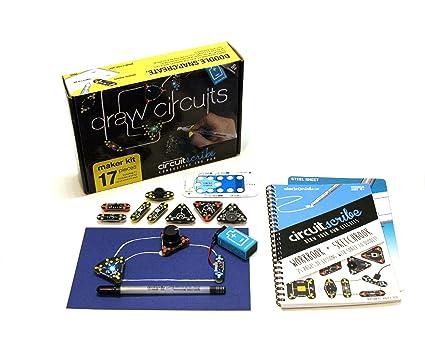 Amazon.com: Circuit Scribe Maker Kit – Includes STEM Workbook ...